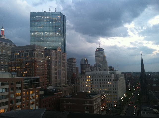 Twice on Top of the World on a Tuesday - Boylston Street Boston | Pennies & Paper Blog