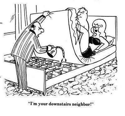 I'm Your Downstairs Neighbor!