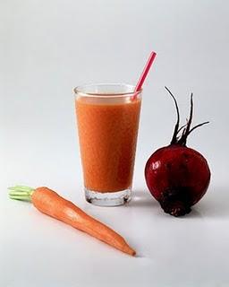 como fazer vitamina suco de cenoura e beteraba