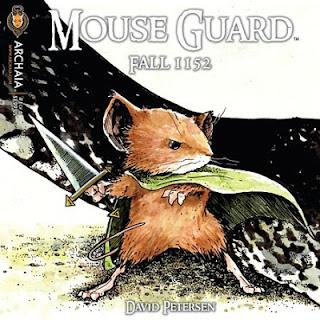 Mouse Guard 1152 #1, David Petersen