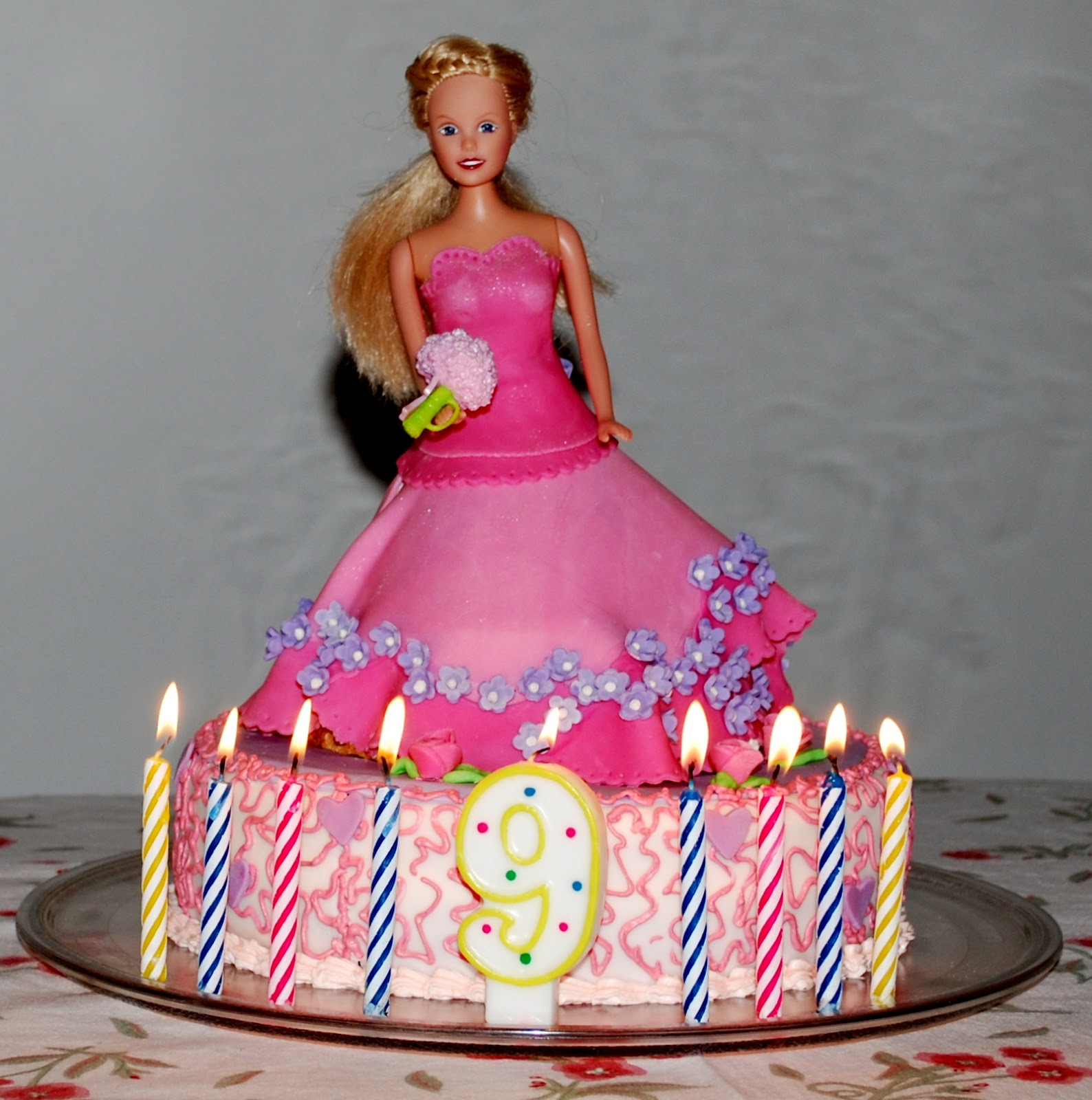 Barbie Cake Images Doll : A Portion to Share: Doll Cake