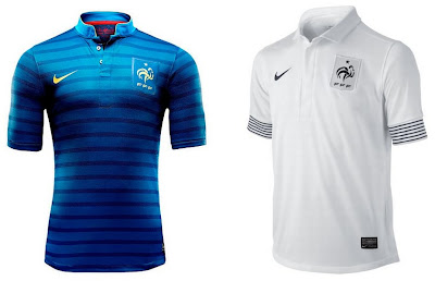 French Home+Away Euro 2012 Kits (Nike)
