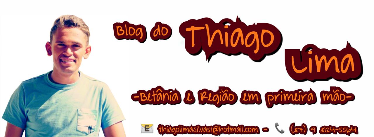 Blog do Thiago Lima