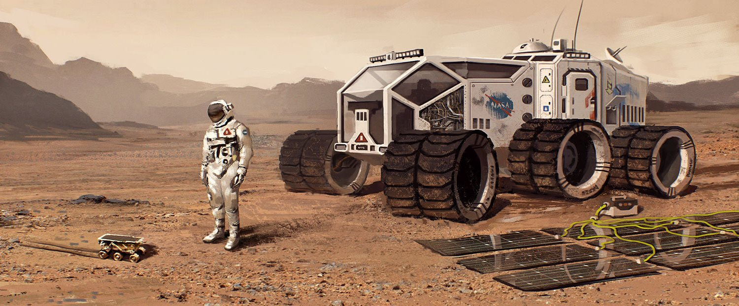 mission to mars concept art - photo #46