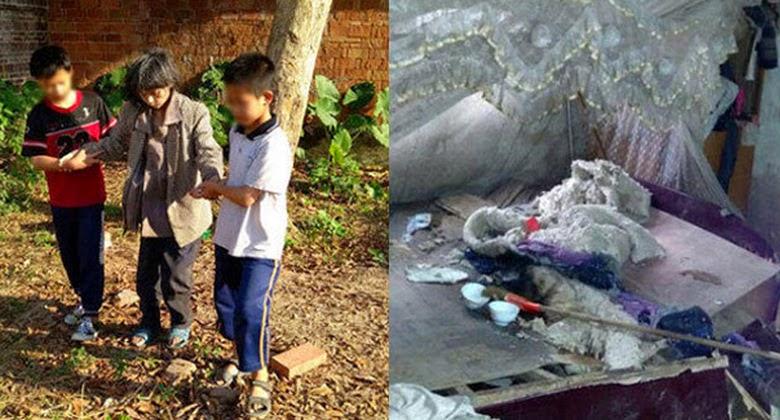 Mengharukan, Dua Anak ini Menemani Ibunya yang Sudah Meninggal 7 Hari