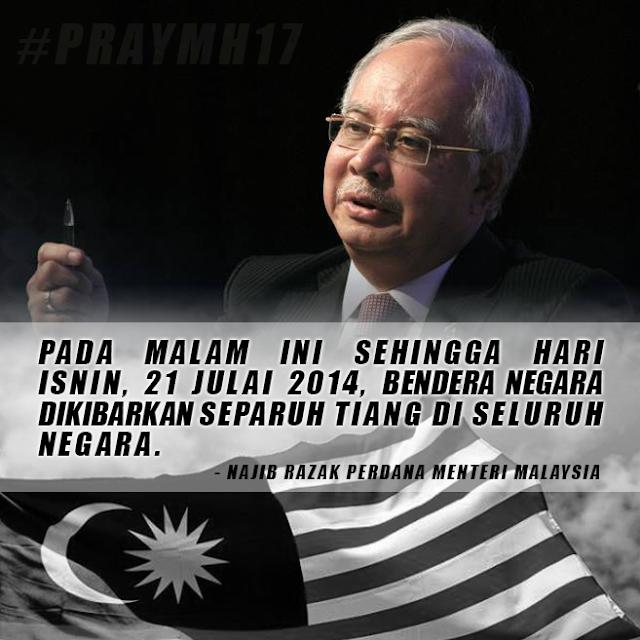 Perutusan Khas PM : Penyerang Tidak Berhati Perut #MH17 #PrayMH17