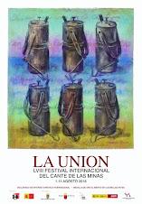 LVIII FESTIVAL INTERNACIONAL DEL CANTE DE LAS MINAS LA UNIÓN 01 AL 11 AGOSTO 2018 - PROGRAMACIÓN