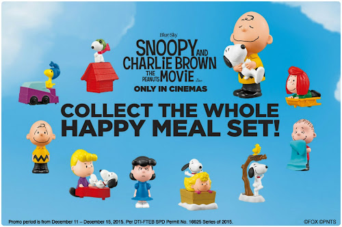 McDonald's Happy Meal – Snoopy and Charlie Brown the Peanuts Movie