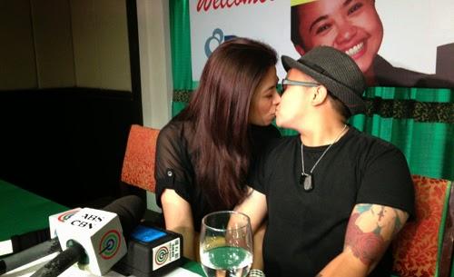 Aiza Seguerra and Liza Dino kissed in public