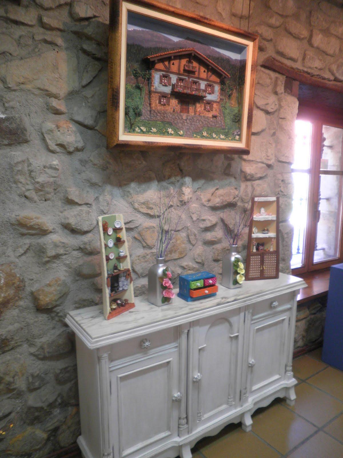 Rosabel manualidades casa de cultura de san miguel de basauri for Muebles basauri