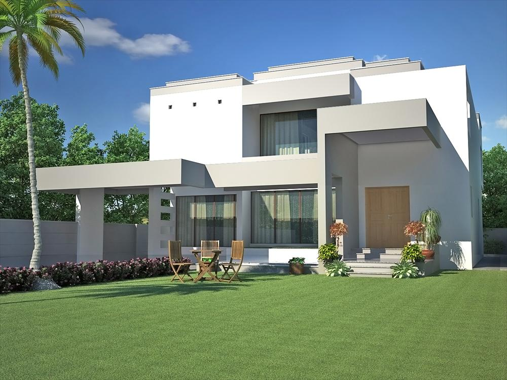 Pakistan modern home designs modern desert homes for Pakistani new home designs exterior views