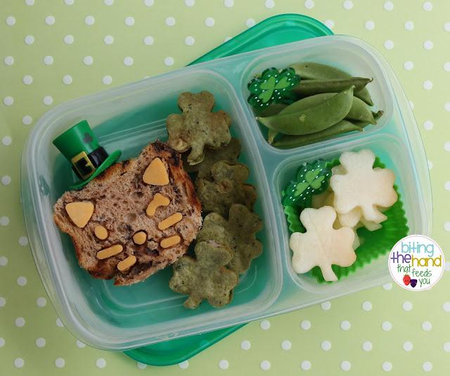 st patty's pat's cat cutezcute healthy easy school work green food shamrock clover