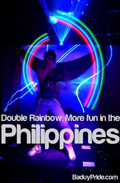 Double Rainbow. More Fun in the Philippines