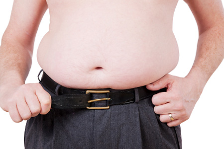 How can a man lose belly fat fast