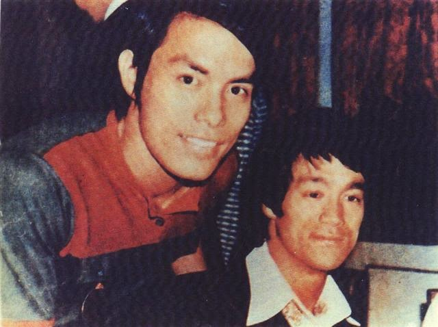 Bruce Lee And Carter Wong