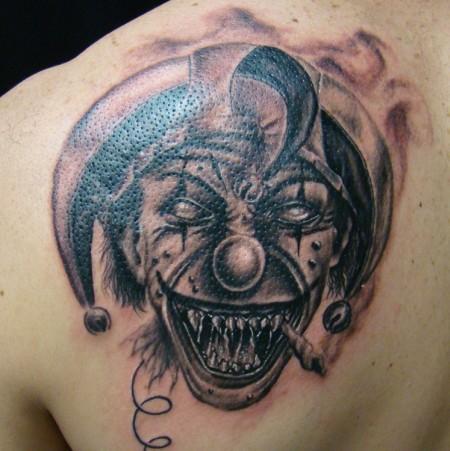 palhaco mal tattoos