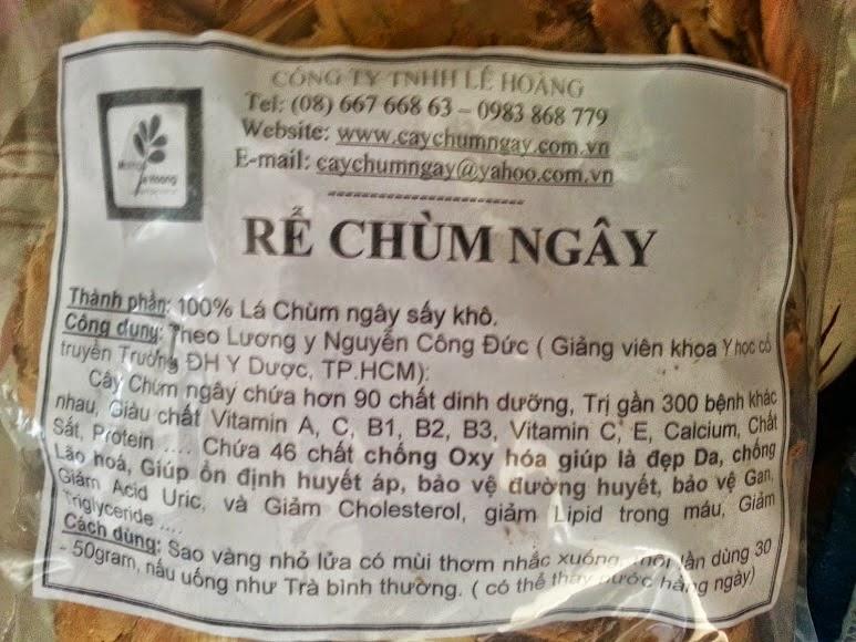 Rể Chùm ngây khô - 100.000đồng/ 300 gram
