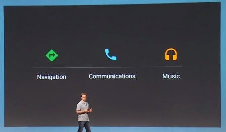 Google rilis Android Auto, OS Android di dasbord mobil Anda