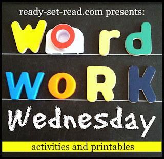 word work, word families