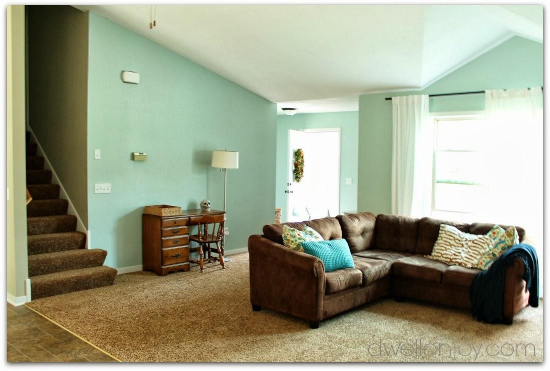 Holy House Progress Living Room