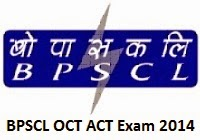 Check BPSCL OCT ACT Trainee Final Exam Result And Merit List 2014
