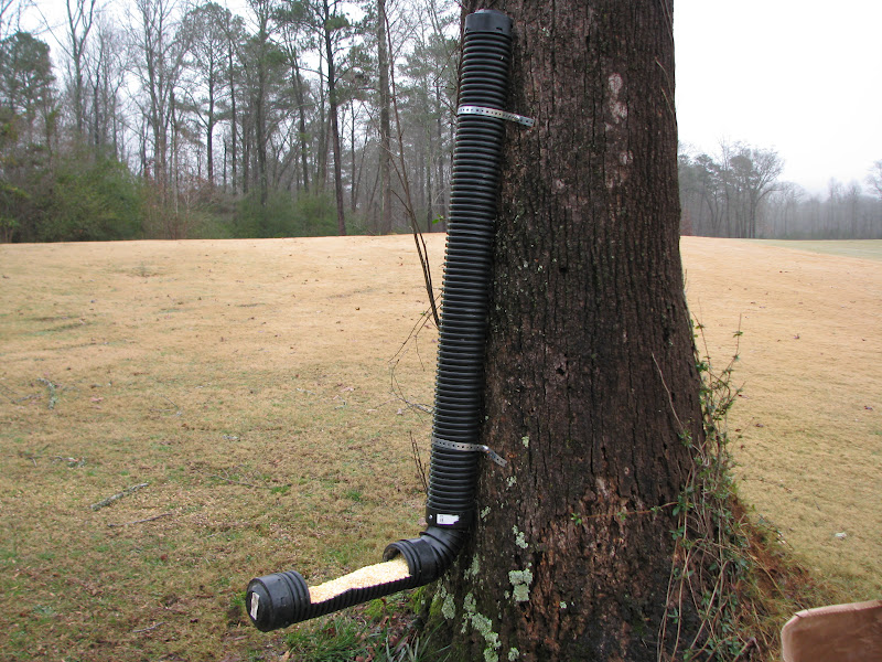 pin desired pipe to fit width the a deer of end caps and feeder simple plans y d ends female or pvc both gravity