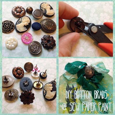 button brads