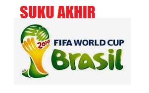 Jadual Siaran Langsung Perlawanan Piala Dunia Hari Ini 6 Julai 2014