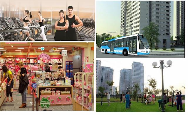 hình ảnh tiện ích của căn hộ Park View Dương Nội