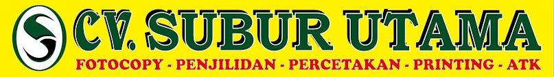 CV. SUBUR UTAMA » Jasa Fotocopy Murah 24 Jam di Jakarta Pusat
