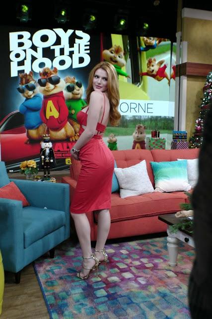 Bella Thorne – On 'Despierta America' in Miami