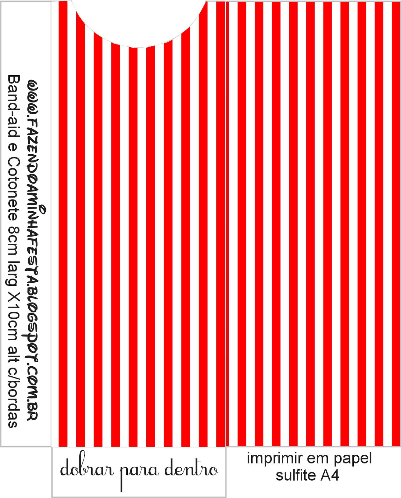 Kit Toilet – Banheiro Vermelho Listras! #CA0101 1288 1600