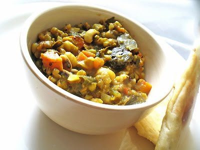 black_eyed pea mung bean curry