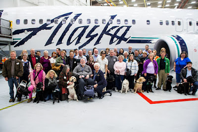 Alaska Airlines and GDB recently hosted an exclusive event at Sea-Tac Airport for individuals who are blind and visually impaired, as well as GDB graduates and volunteers, to enhance the travel experience for all.