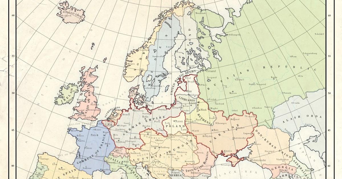 Alternate History Weekly Update: Map Monday: Kaiserreich 1936 by Milites
