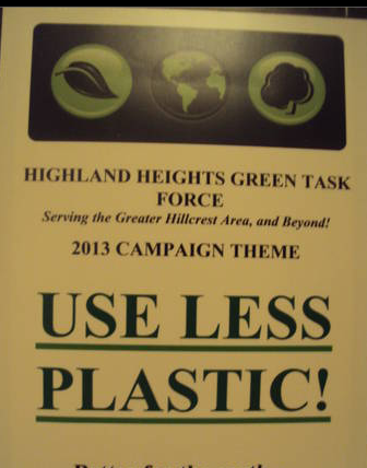 Zero Waste is our 2014 campaign. It is always good to USE LESS PLASTIC - our 2013 theme.