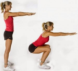 Squats are one of my favorite lower body exercises and I use them in all my training routines.  Courtesy of Wikimedia