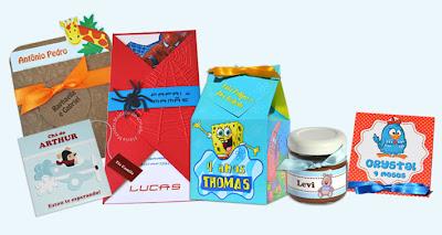 Exemplos de Convites Para Aniversário Infantil