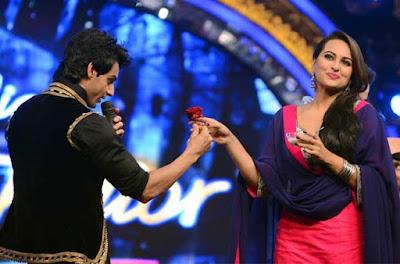 indian idol, junior, sonakshi sinha, judge, 2015, sonakshi, sinha, beautiful, stunning, bollywood, actress, singing, debut, ishqoholic