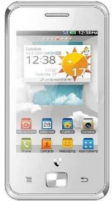 Videocon V1586 Dual SIM Toucscreen Phone