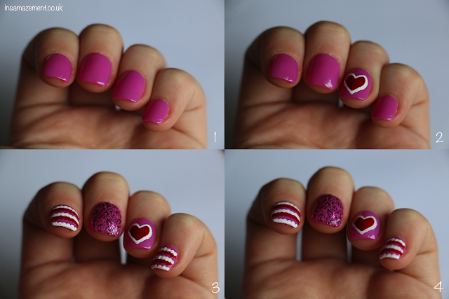 Valentines Nail Art Tutorial