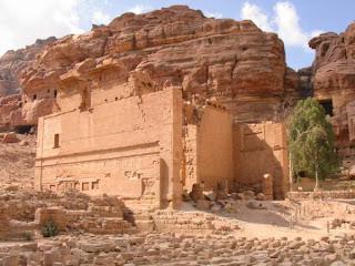 qasr_al_bint ciudad de petra - Jordania que visitar