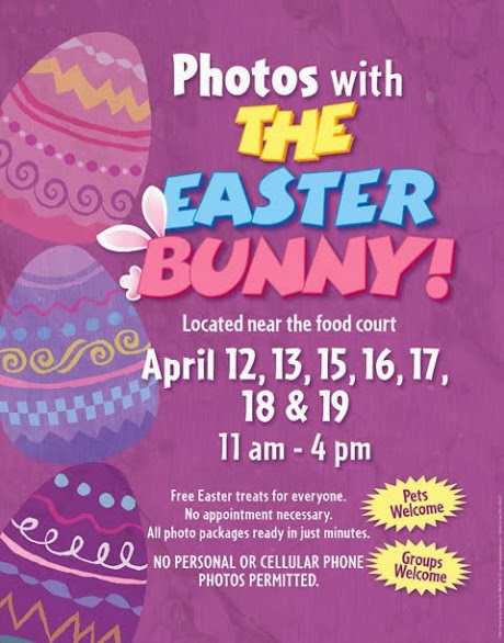 2014 Easter Bunny Schedule at Seaport Village