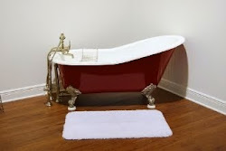 61 Inch Slipper Claw Foot Tub