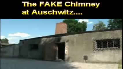 Fake Chimney at Auschwitz