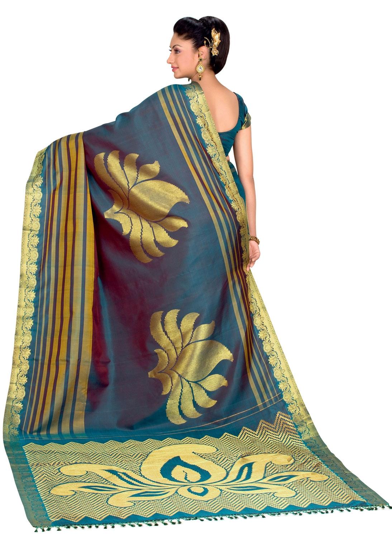 Wedding sarees kanchipuram silk sarees kanch pattu saree new indian - Marriage Sarees The Chennai Silks Wedding Sarees