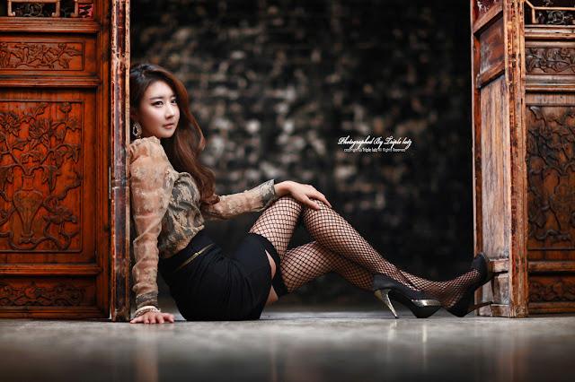 Park Hyun Sun Gorgeous in Dress