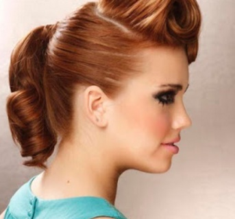 Moda Cabellos Peinados Vintage Para Fiestas De Fin De Ano