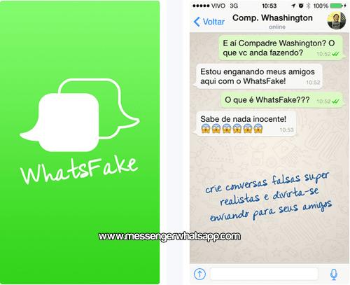 Crea divertidos fakes con WhatsFake ZapZap