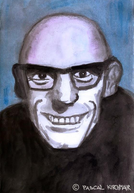 Michel-Foucault-portrait-caricature-Kari